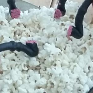 Smager lakridspibe godt, hvis den bliver dyppet i popcorn, mens man ser filmatiseringen af Den lille prins?