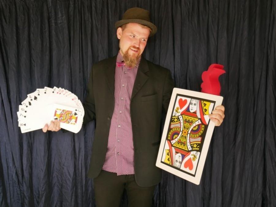 Tryllekunstner Allan Jensen