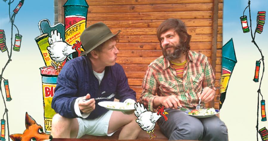 To mænd der taler sammen