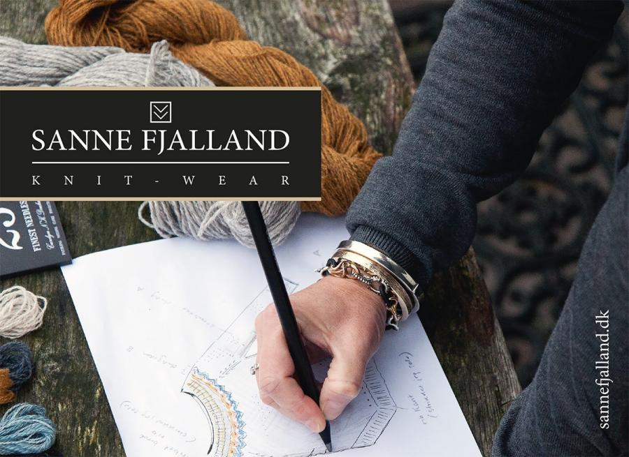 Strikkeforedrag med designer Sanne Fjalland