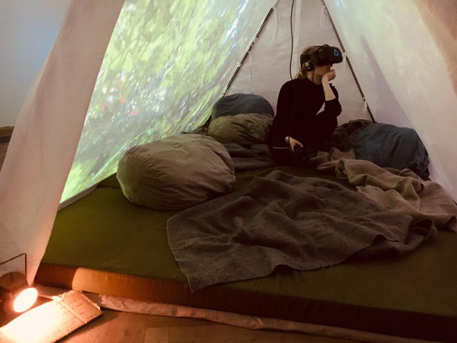 Songbird - oplev regnskoven gennem virtual reality-briller