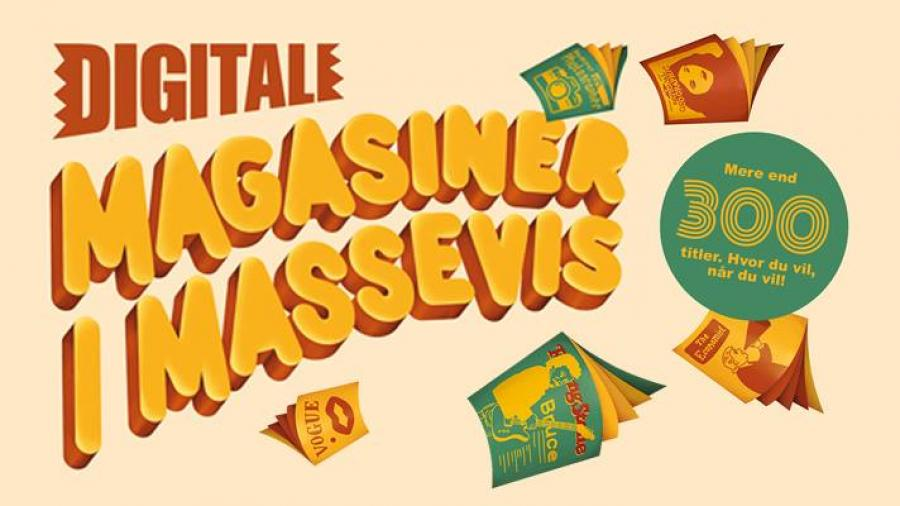 Digitale magasiner i massevis