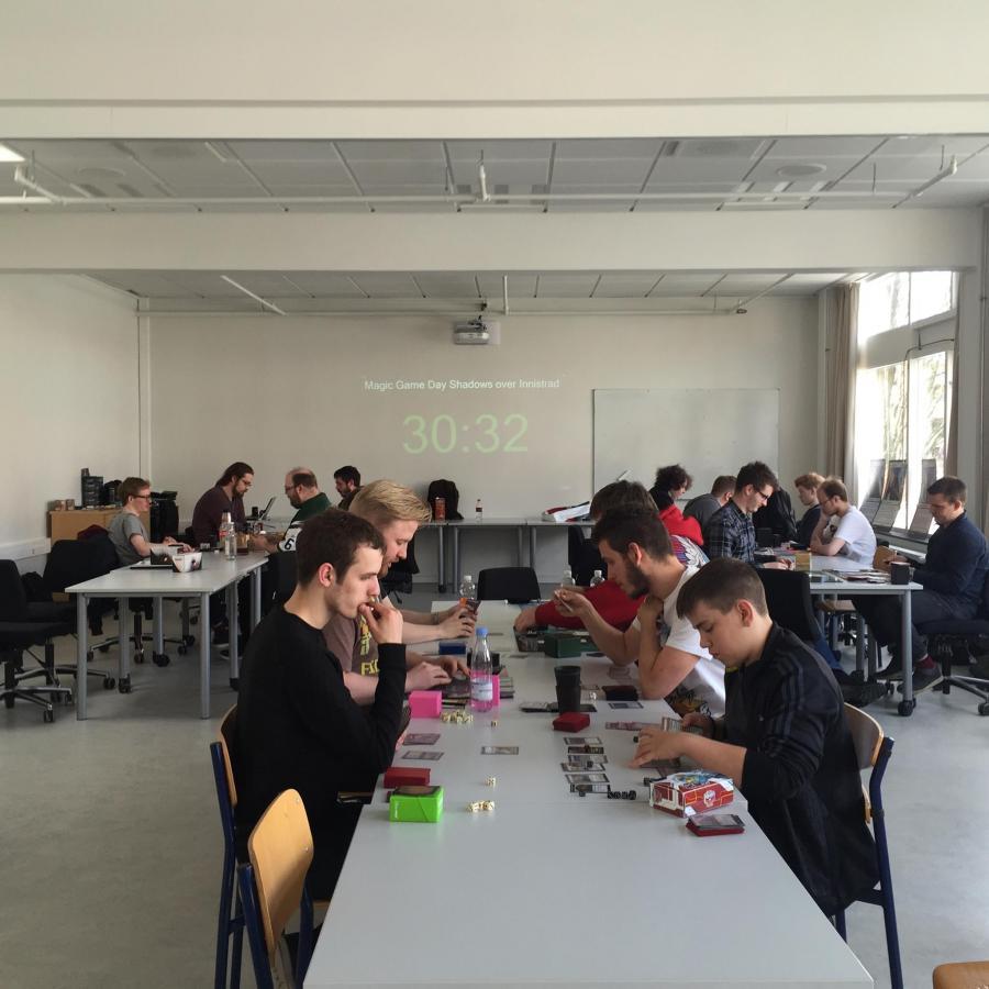 : Magic turnering til International Gameday på Viborg Bibliotekerne